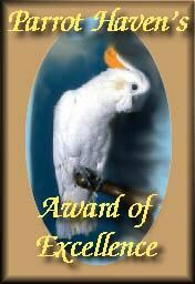 Parrot Haven's Award